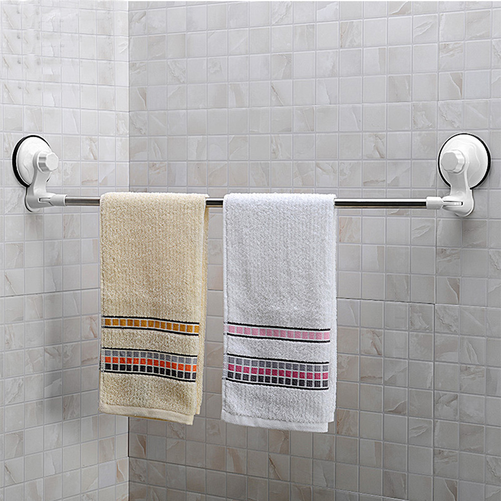 Wall Mounted Suction Cup Moveable Bathroom Corner Towel Rack - Buy ...