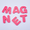 Dongguan customized educational die cut EVA magnet foam Alphabet letters