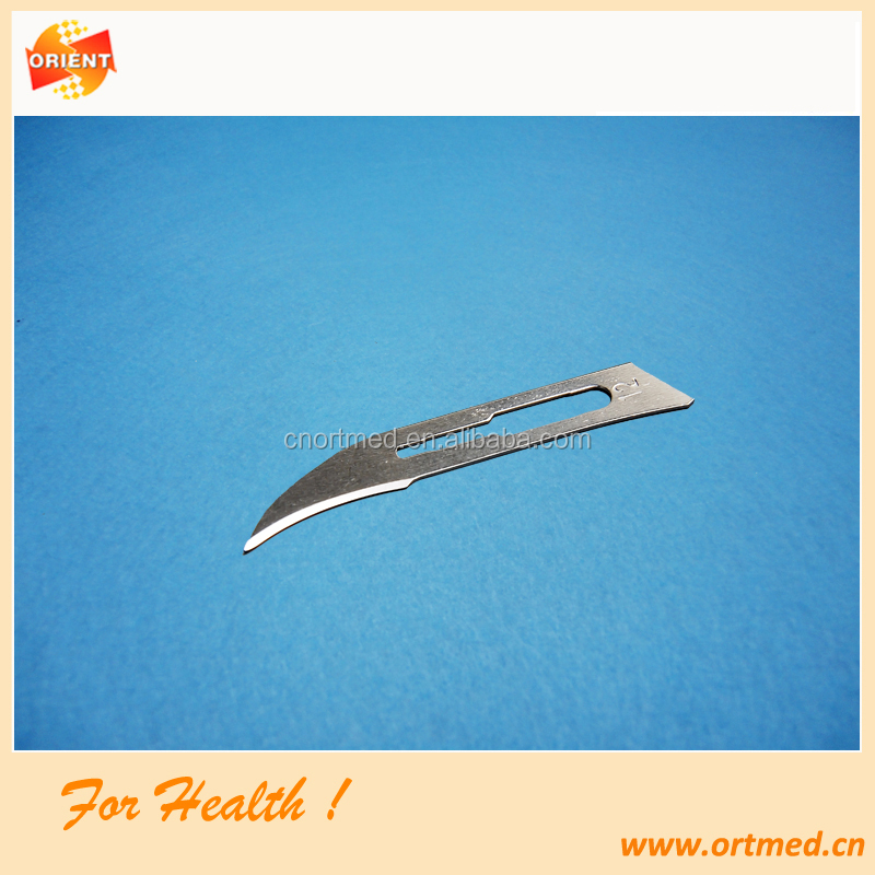 CE ISO marked approved Medical Sharp Point skin grafting knife