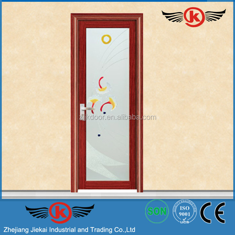 JK-AW9041 aluminum sliding mesh door/aluminium bifold door/automatic swing door opener