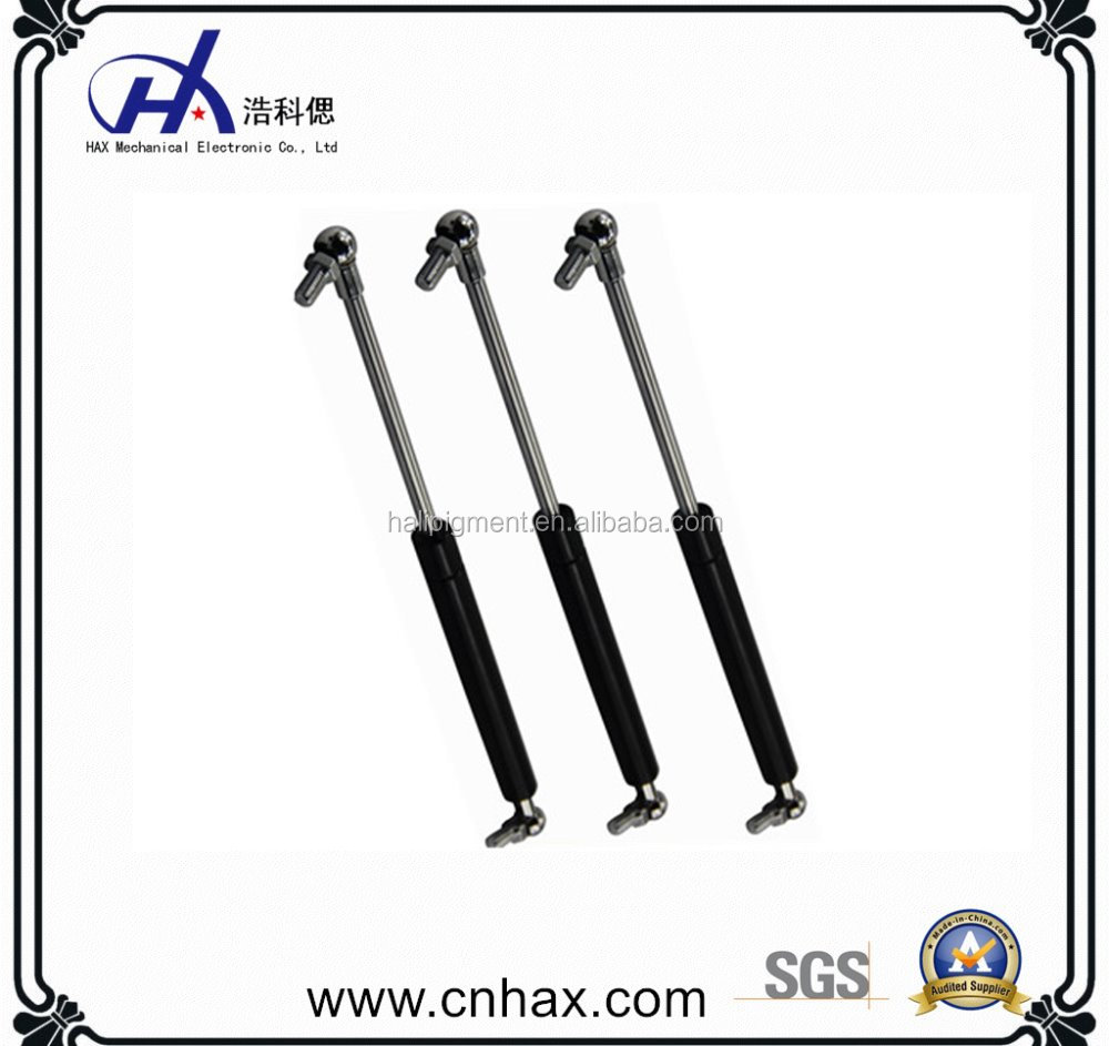 Lift gas springs with plastic groove used for car trunk