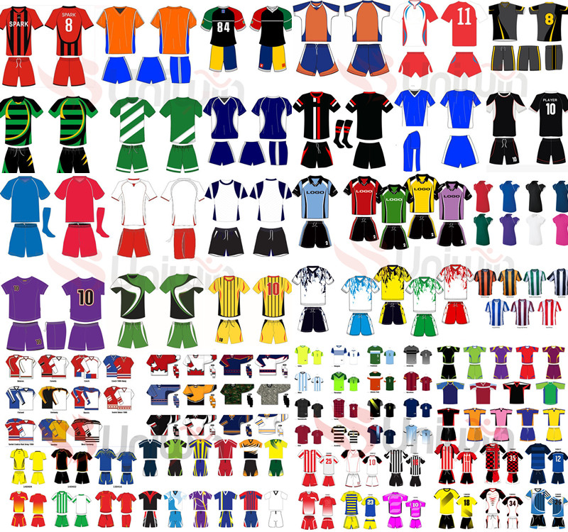 Kids youth football shirt maker soccer jersey
