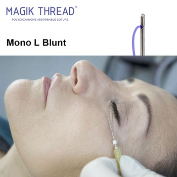Mono L Blunt 30G 25mm Magik Thread disposable mesotherapy needles injection 30g x 25.4mm