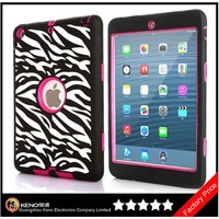 Keno for iPad Case, Hybrid Protective Case Combo Defender Shockproof Armor Case for iPad Mini / Mini 2 with Retina Display