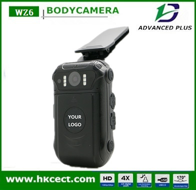 1080P FHD Original wireless police body worn dvr built-in GPS recorder camera with remote key with high quality