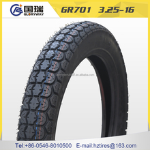 hot sale high quality motorcycle tyre casing 3.25-16