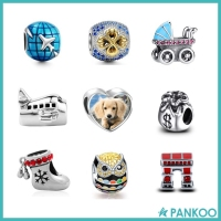 Fit European Style wholesale Zirconia charms,most popular beads,china supplier 925 sterling silver charms beads