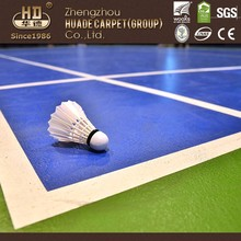 Custom high quality pp materia sports court used pvc flooring ties