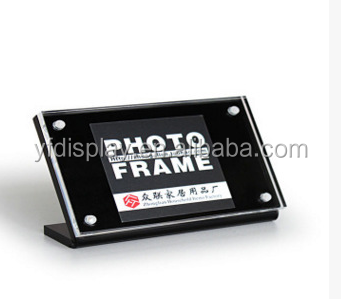 High-quality Black Acrylic Photo Frame