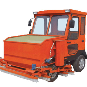 Synthetic grass brush machine
