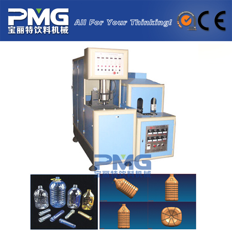 PMG-C1 Semiautomatic 3-10L PET bottle blow molding machine / blowing equipment