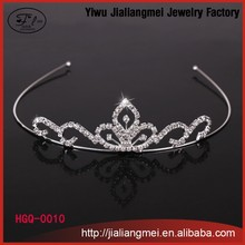 2015 latest wedding bridal headband pageant rhinestone tiaras crowns