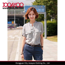 2015 Year Summer new han edition cultivate one's morality show thin linen shirts with short sleeves dresses for women