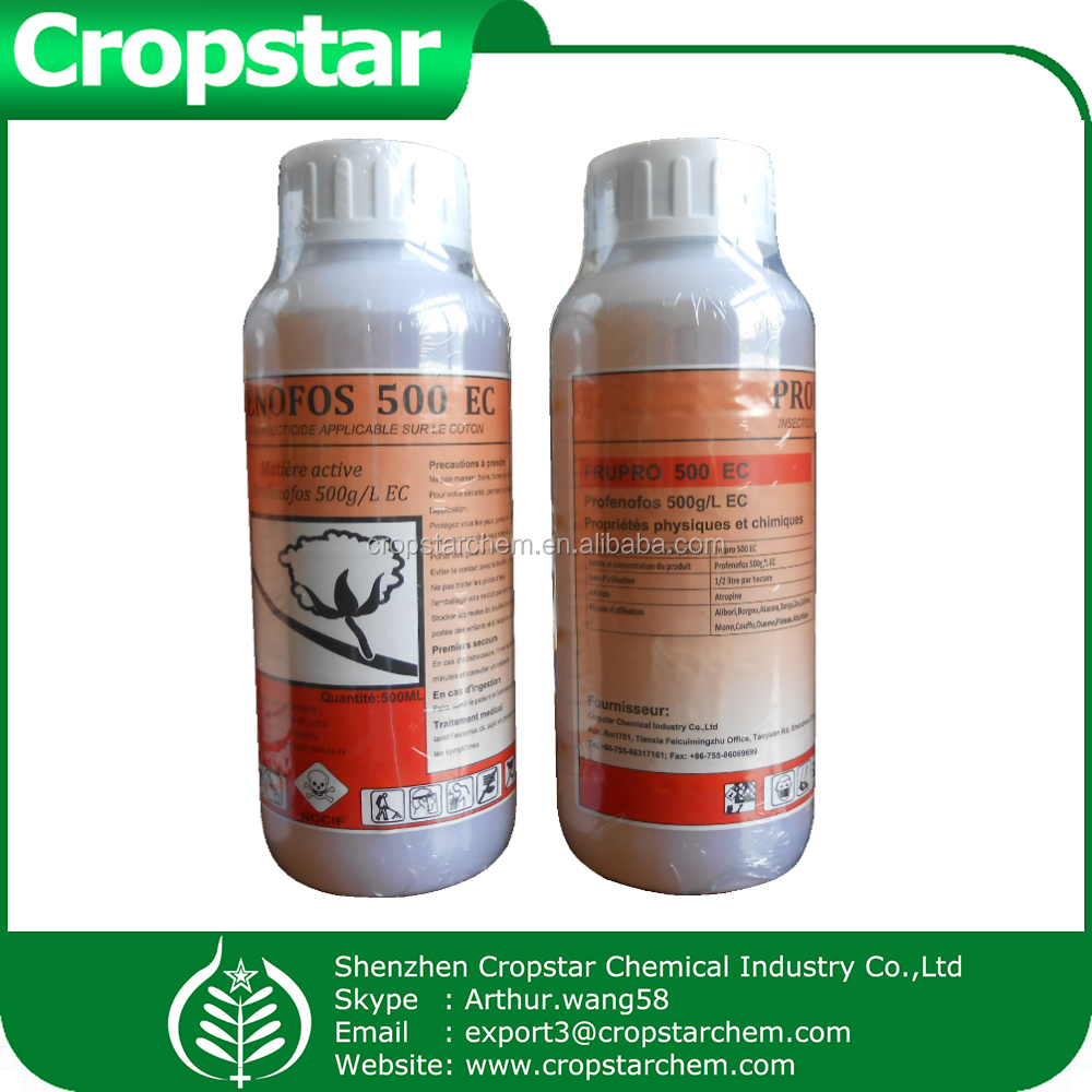 Broad spectrum insecticide profenofos 50% ec for control of sucking and chewing insects