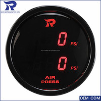 Engine Generator Fuel Oil Pressure Gauge