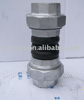 double threaded rubber fitting
