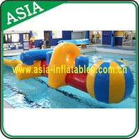 2016 New Inflatable Sumo Sport running Games, Professional Single Inflatable River Run Tube Pool Rafts Floating