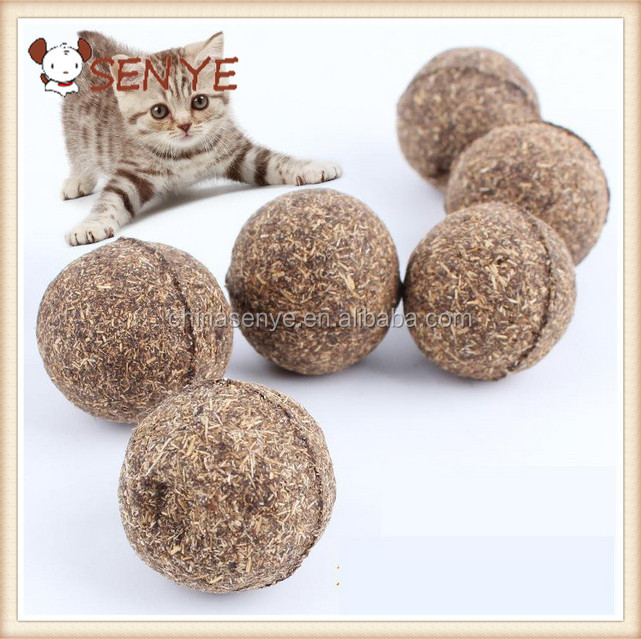 Natural Wild Catnip Ball Pet Toy