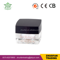 10g new square acrylic jar