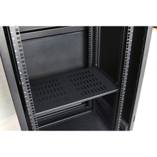 Powder Coating metal 22u server rack , server cabinet