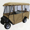 4 passenger Oxford with PVC golf cart rain cover