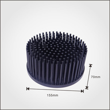 OEM Round pin fin heatsink with 80-100w heat dissipation for vero29