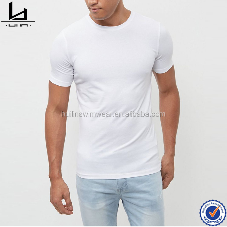 China manufacturer wholesale blank men white fashion t-shirt