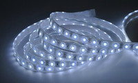SMD 5050 waterproof IP65 solar powered flexible led strip with black pcb