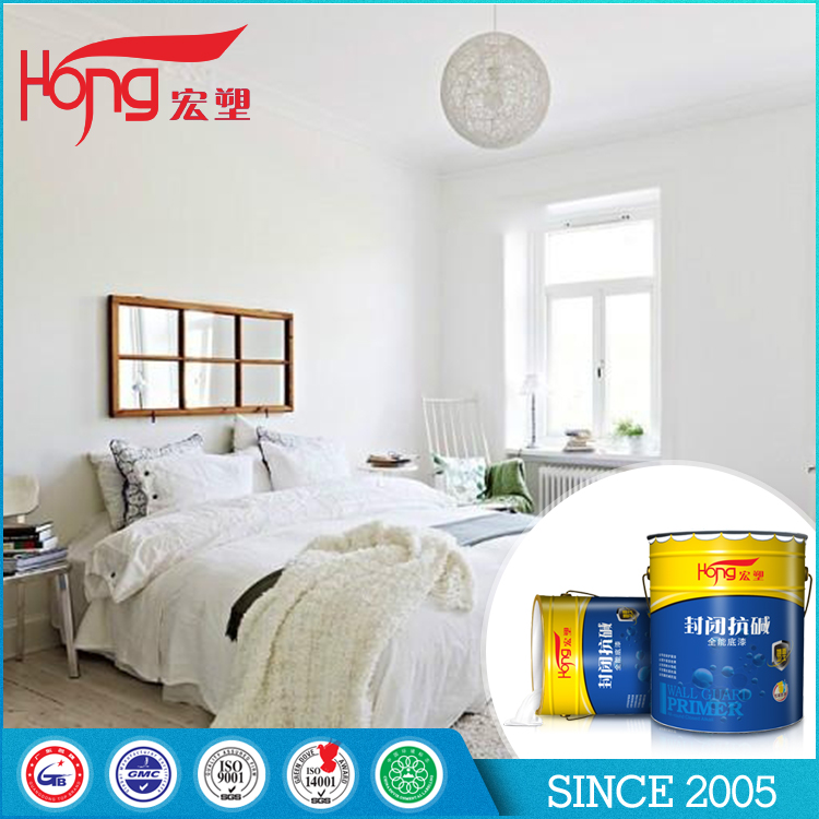 Hongsu building architectural coatings K61 white paint Alkali resistant primer