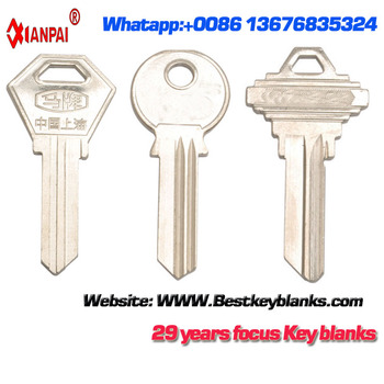 F461 Painted Cheap Blank door key Blanks Wholesale Suppliers