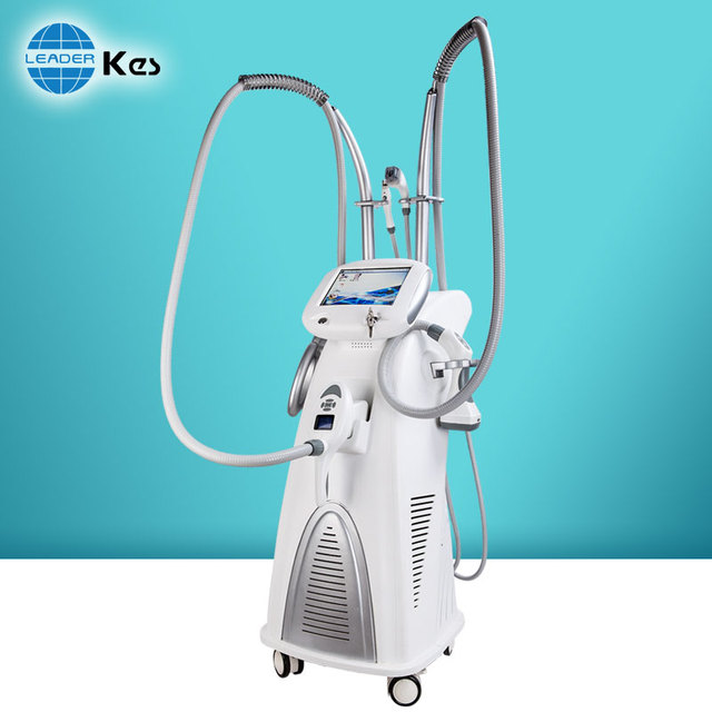 Beijing KES 2017 hot sale 5 in 1 RF cavitation machine vacuum ultrasonic cavitation slimming machine for salon