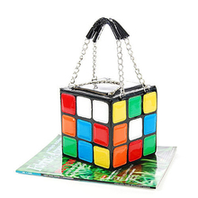 ZOGIFT Lady Girlish Magic Cube Bag/Tote/Handbag Women's Hot Cute Magic Cube Bag Purse Korean Fashion