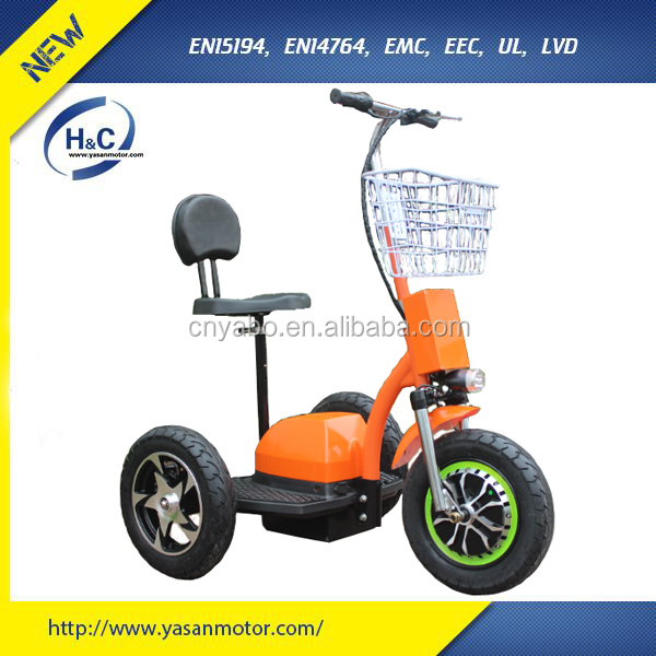zappy 3 wheel 48V/20AH li-ion battery electric motorbike for adult big wheels
