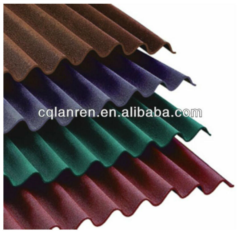 ASTM color coated embossed aluminium corrugated sheets for roofing