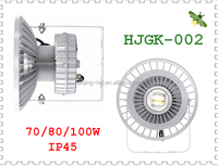High Lumen Meanwell Driver Approved 120lm/w IP65 70w LED High Bay Light