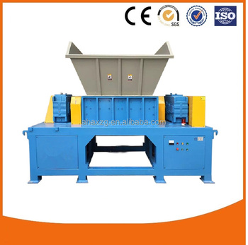 High quality instock plastic/rubber/wood/steel metal shredder machine
