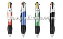 2012 new design promotional six color jumbo pen