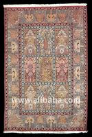 Oriental Handknotted silk carpet