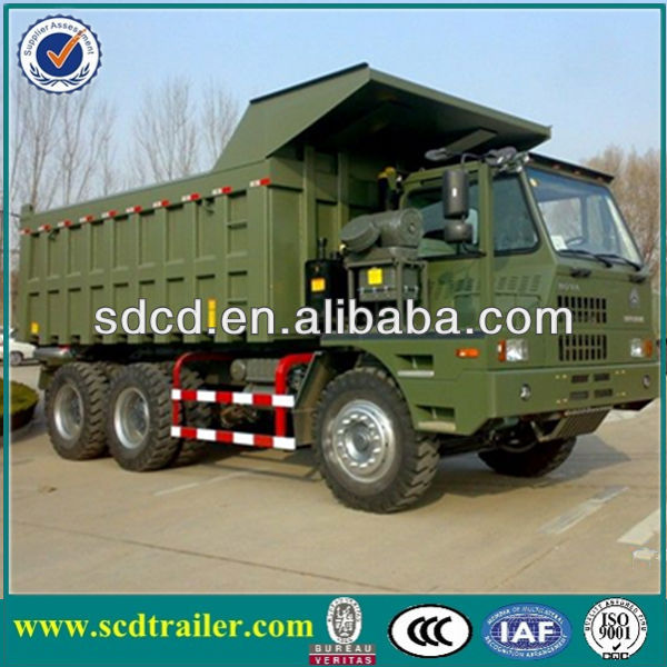 HOWO 6*4 HEAVY OFF ROAD MINING TRUCK