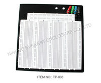 Large Solderless Breadboard Project Electronic Bread Board Length 22.2x20.2x0.85cm
