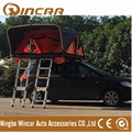 Overland roof top tent Auto 4x4 roof tent with 2 ladders for outdoor
