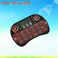 2017 Brand new Mini i8 air mouse backlit wireless mini keyboard for chromecast with best quality and low price