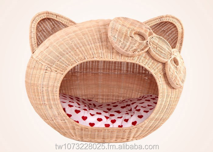 SGS Approval New Arrival Colors Rattan Small Dog House Pet Cages