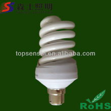 Full spiral 10W 12W 220V B22 Energy saving lamp pp cfl lights