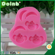 Doinb custom 3D monkey banana shaped silicone fondant mold mould cake decorating tools ST1980