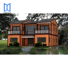 Aluminum Prefabricated Foldable Container Houses and Villas for Hot Sale