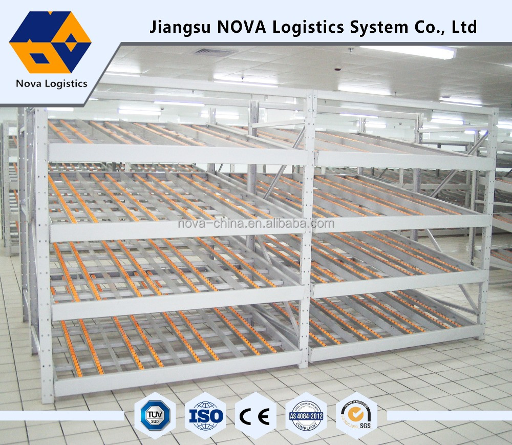Warehouse High Quality with Good Price Flow Through Racking