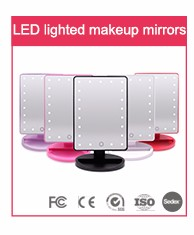 Professionelle fabrik reise make-up led licht