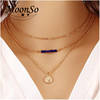 2016 Fashion Multilayer Female18k Gold Plated
