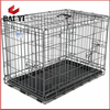 Alibaba Supply Pet Accessories Metal Dog Cages With Plastic Tray